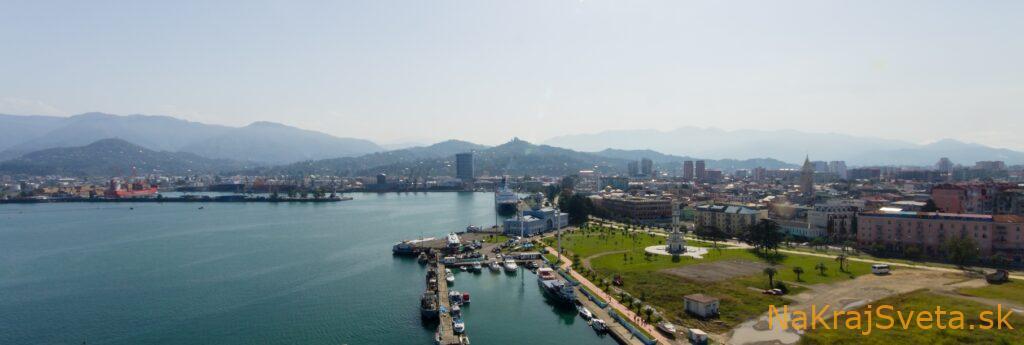 Stopovanie v Gruzínsku, Batumi mesto